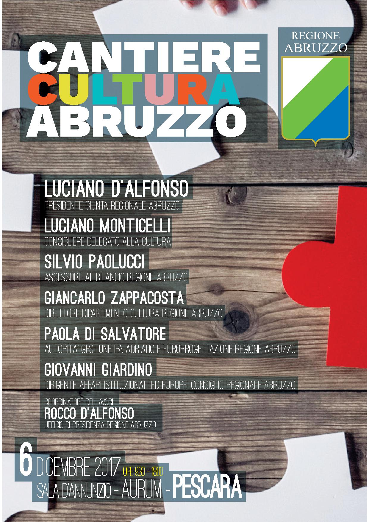 Cantiere Cultura Abruzzo