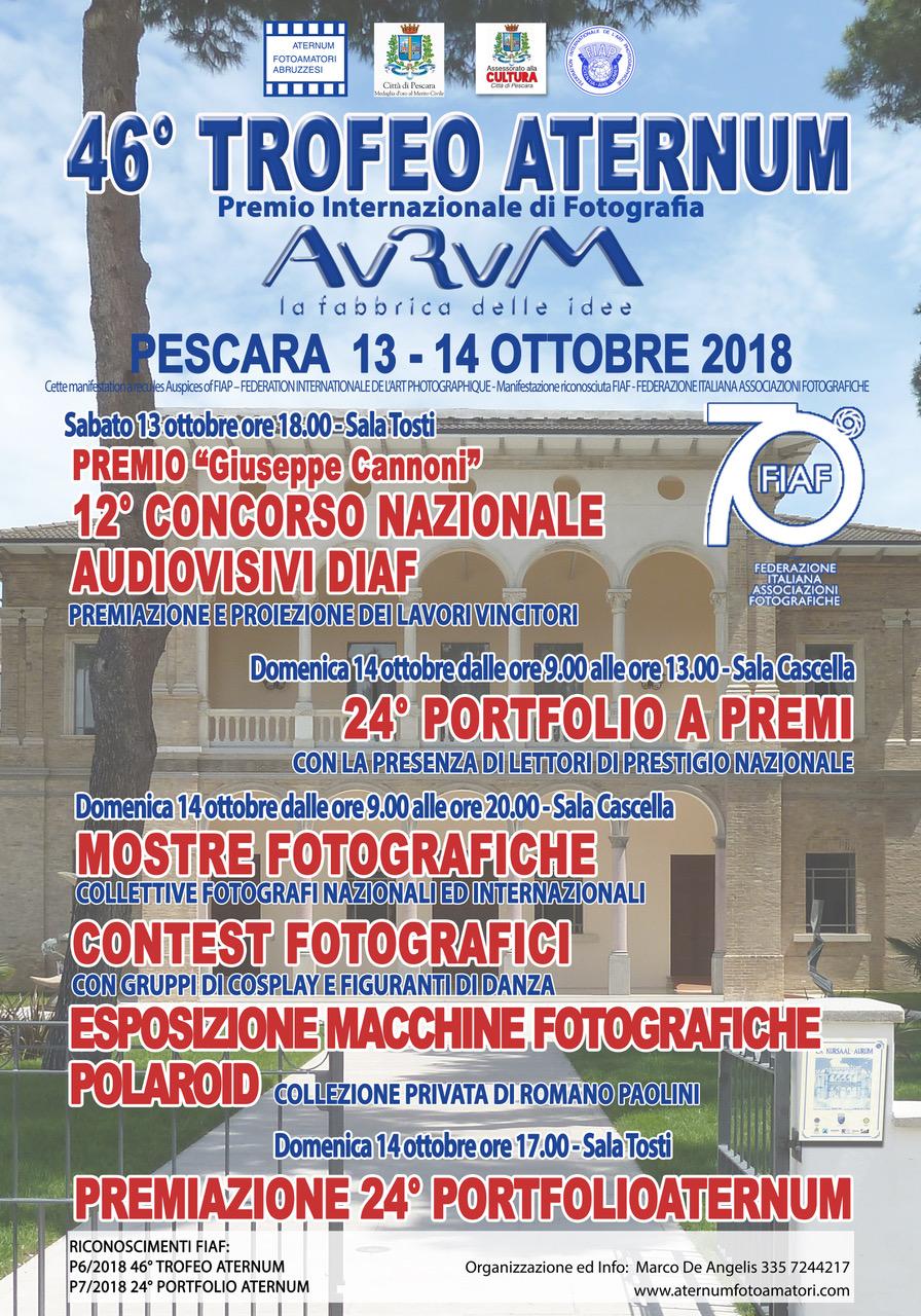 LOCANDINA 46° Trofeo Aternum
